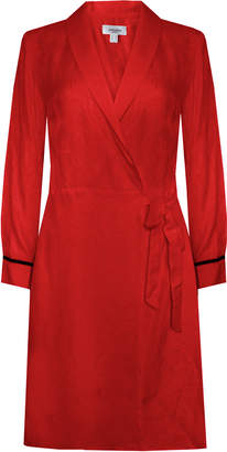 Jovonna London Red Estrada Wrap Trench/Dress - UK8 - Red