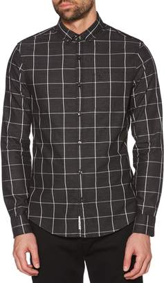Original Penguin Stretch Windowpane Sport Shirt