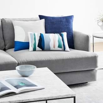 west elm Modern Shapes + Cool Colors Pillow Set