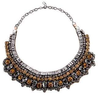 Valentino Crystal Collar Necklace