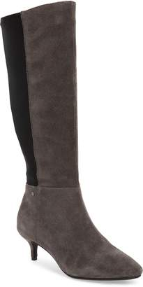 Sudini Beverly Stretch Back Knee High Boot