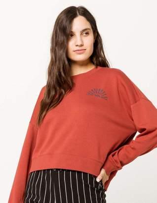RVCA Paper Fan Womens Sweatshirt