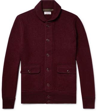J.Crew Wallace & Barnes Shawl-Collar Merino Wool Cardigan - Men - Burgundy