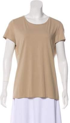 Loro Piana Crew Neck Short Sleeve T-Shirt