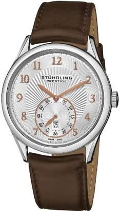 Stuhrling Original Prestige Men's 171B3.331K2 Prestige Swiss Made Adamant Automatic Date Watch