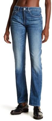 G-STAR RAW High Waist Straight Leg Jeans