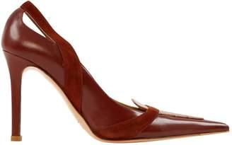 Valentino Brown Leather Heels