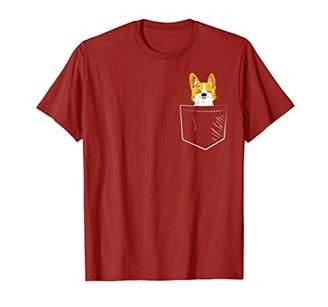 Corgi in Pocket Shirt
