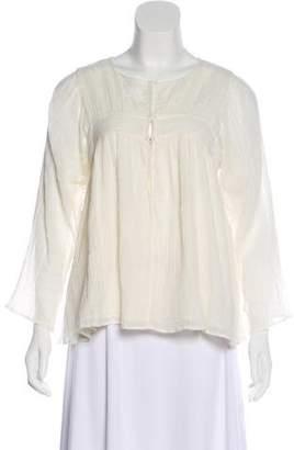 Apiece Apart Long Sleeve Blouse