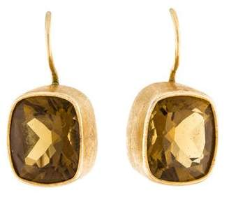 Dina Mackney Smoky Quartz Drop Earrings