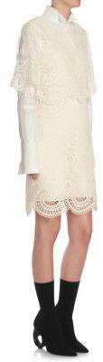 Burberry Burberry Lace Shift Dress