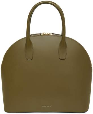 Mansur Gavriel Calf Top Handle Rounded Bag