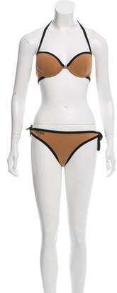 Fendi Roma Two-Piece Swimsuit w/ Tags