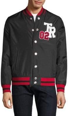 True Religion Logo Varsity Jacket