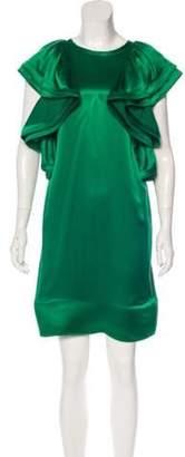 Lanvin Silk Mini Dress Silk Mini Dress