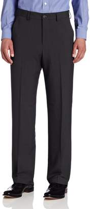 Van Heusen Men's Flat Front Straight Fit Crosshatch Pant