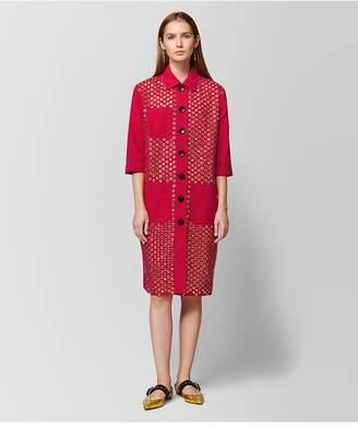 Bottega Veneta China Red Cotton Coat