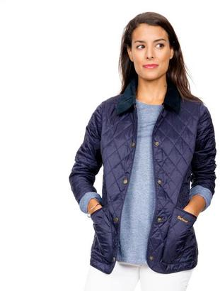Barbour Barbour® Navy Annandale Quilted Jacket $169 thestylecure.com