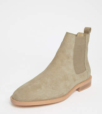 Cheap Sale Manchester From China ASOS DESIGN Aura suede chelsea ankle boots Sale Really 8S4nCfJ