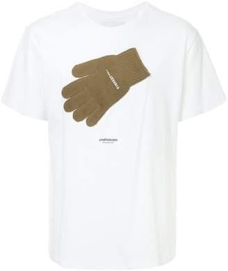 Yoshio Kubo Yoshiokubo glove detail T-shirt