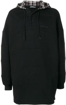 Balenciaga patchwork hoodie