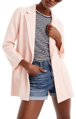 J.Crew J. CREW New Lightweight Sweater Blazer