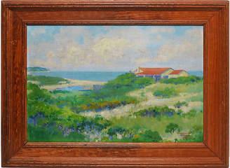 One Kings Lane Vintage Hamptons Summer View - Curated Gallery Art
