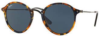 Ray-Ban Round Plastic/Metal Sunglasses