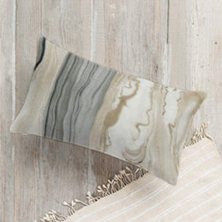 Marbled Elegance Self-Launch Lumbar Pillows