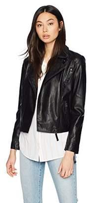 Armani Exchange A|X Women's Asymmetrical Moto Jacket