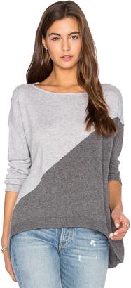 Alice + Olivia Abbie Colorblock Sweater $275 thestylecure.com