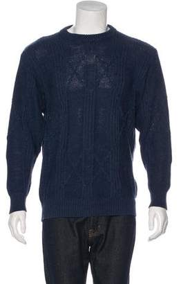 Hermes Linen-Blend Knit Sweater