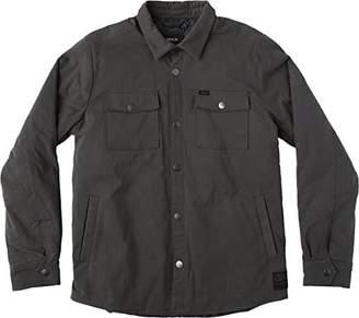 RVCA Men's Officers Shirt Jacket