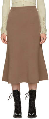 Joseph Tan Flared Skirt