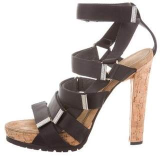 DSQUARED2 Multistrap Platform Sandals