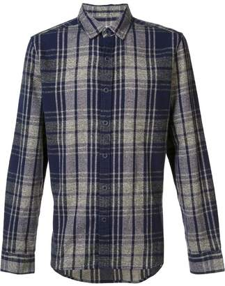 Current/Elliott plaid shirt