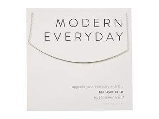 Dogeared Modern Everyday, Top Layer Collar Necklace