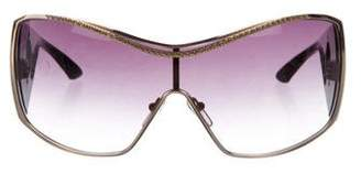 Blumarine Oversize Gradient Sunglasses