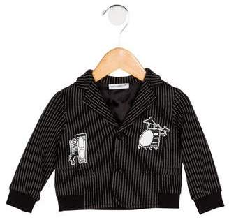 Dolce & Gabbana Boys' Pinstripe Button-Up Blazer
