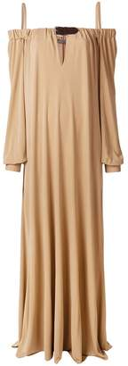 Alberta Ferretti off-shoulder flared dress