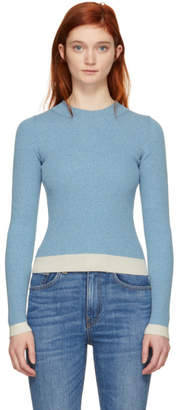 MM6 MAISON MARGIELA Blue Gauge 18 Contrast Sweater