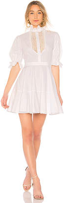 Lover Abbey Trim Dress