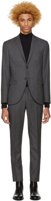 Tiger of Sweden Grey Jill Suit $1,000 thestylecure.com