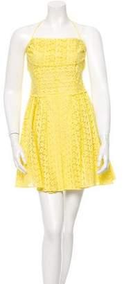 Nina Ricci Eyelet Halter Dress w/ Tags