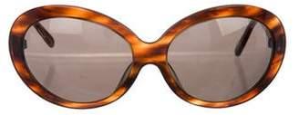 Versace Tortoiseshell Tinted Sunglasses