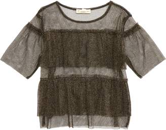 Tucker + Tate Sheer Sparkle Tulle Top