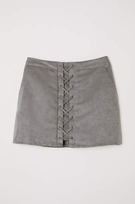H&M Short Skirt - Gray
