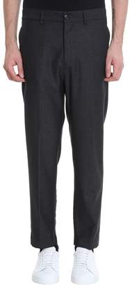 Mauro Grifoni Grey Wool Pants