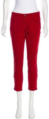 Stella McCartney Mid-Rise Corduroy Pants