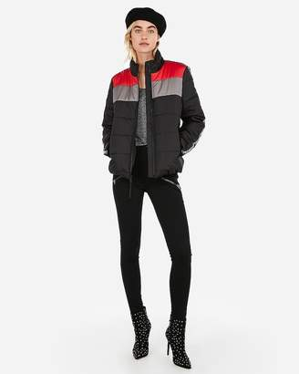 Express Love Sporty Puffer Coat